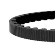 108 tooth cdc belt black