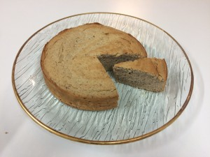 chestnut almond cake
