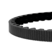 115 tooth cdc belt black