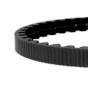 115 tooth cdx belt black