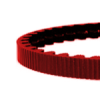 122 tooth cdx belt red