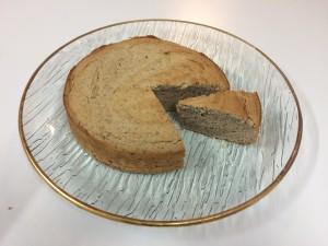 chestnut almond cake