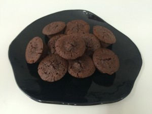 chocolate hazelnut friands