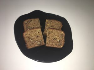 walnut teff banana bread